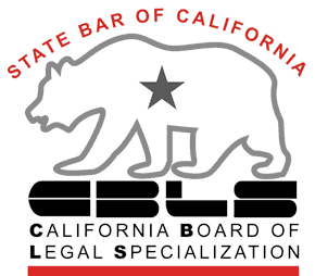 Certified Specialist by the CA Board of Legal Specialization